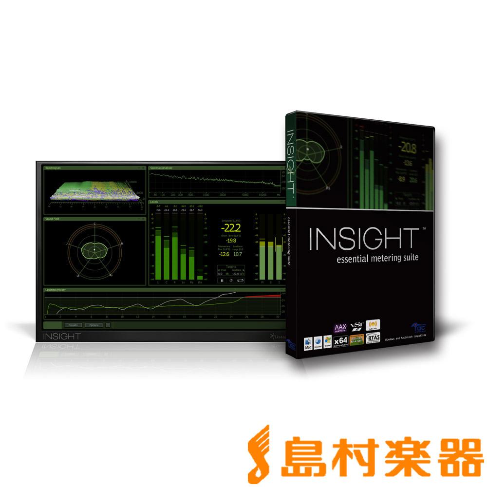 iZotope Insight マスタリング用 メータープラグイン 【ダウンロード版】 【アイゾトープ】【国内正規品】