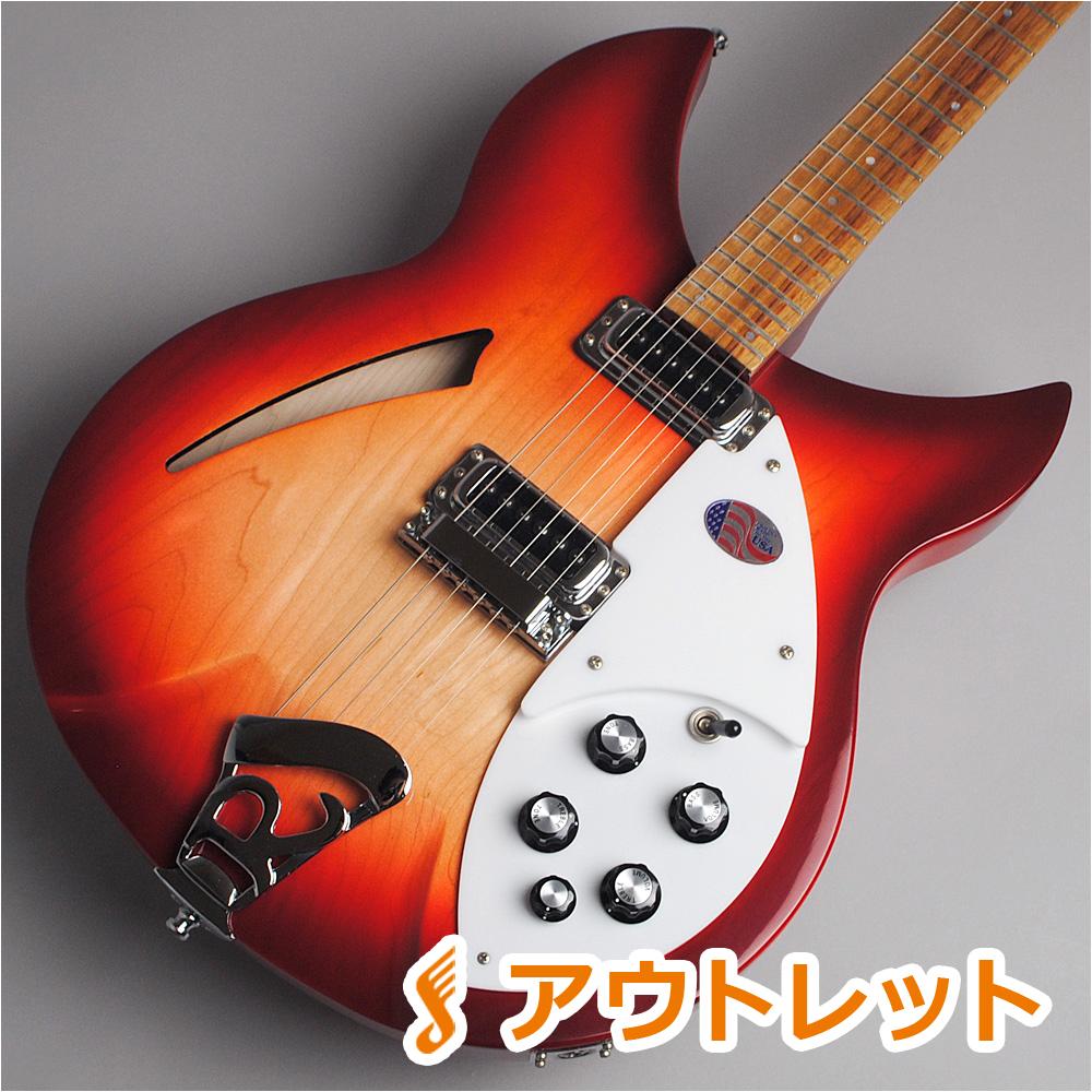 Rickenbacker 330/Fireglo エレキギター(セミアコ) 【リッケンバッカー】【ビビット南船橋店】【アウトレット】【現物画像】