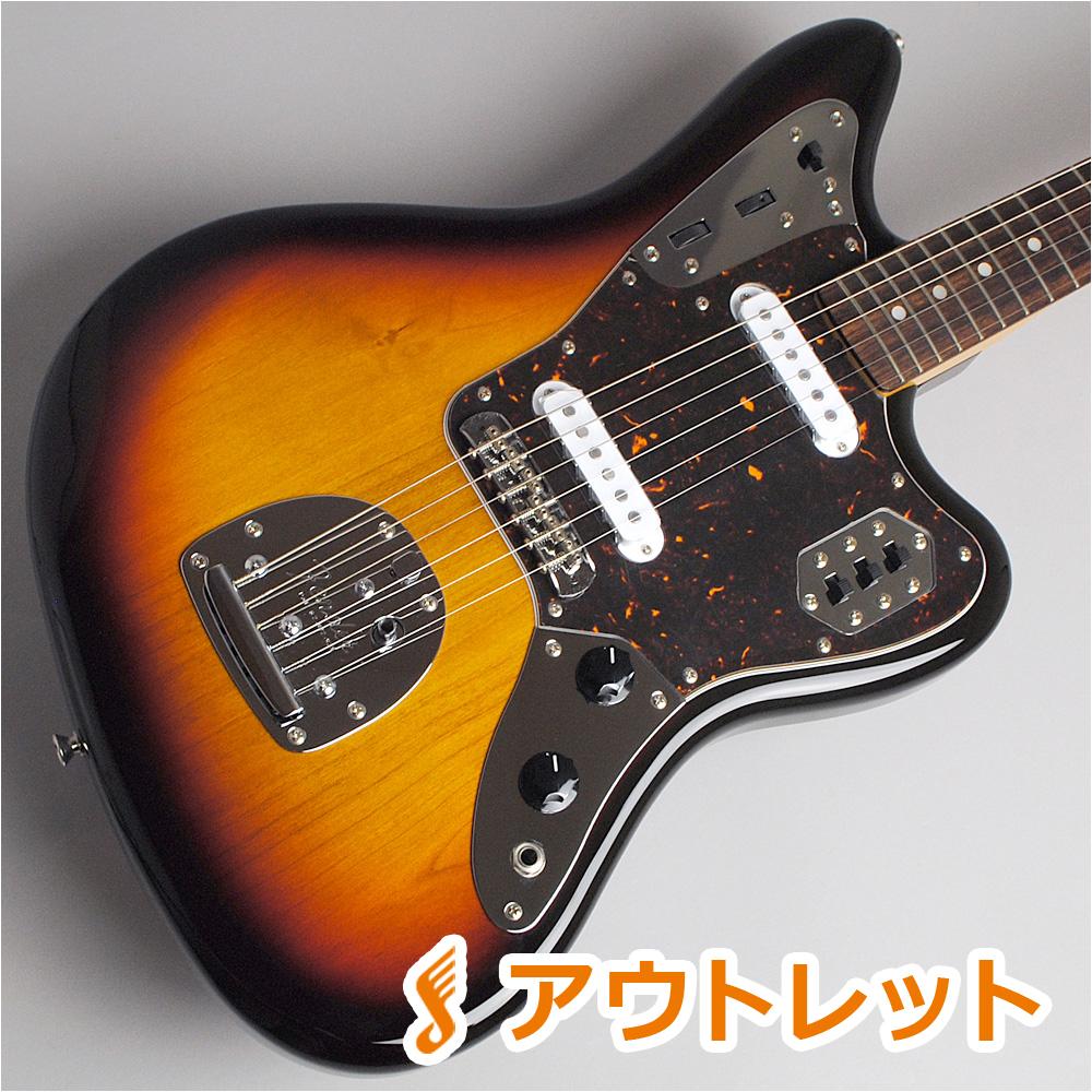 Fender Japan Exclusive Classic 60s Jaguar/3-Color Sunburst エレキギター 【フェンダー ジャガー】【ビビット南船橋店】【アウトレット】【現物画像】