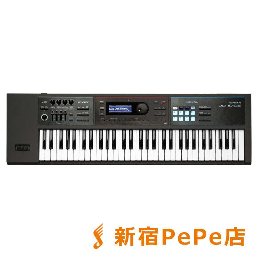 Roland JUNO-DS61 (ブラック) シンセサイザー 61鍵盤 【ローランド JUNODS61】【新宿PePe店】