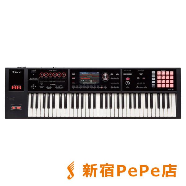 Roland FA-06 ブラック シンセサイザー 61鍵盤 【ローランド FA06】【新宿PePe店】