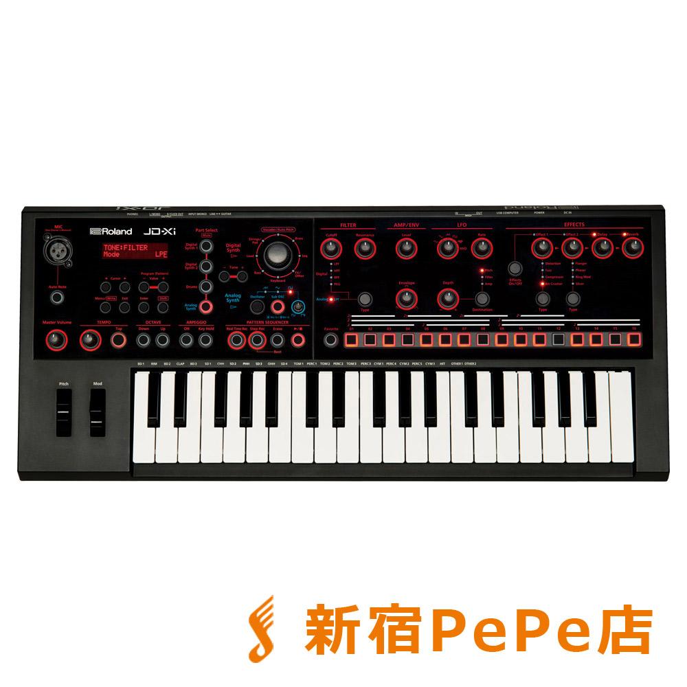Roland JD-Xi シンセサイザー 37鍵盤 【ローランド JDXi】【新宿PePe店】