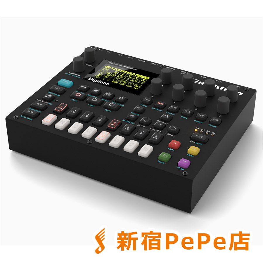 elektron Digitone ポリフォニックデジタルシンセサイザー 【エレクトロン DTN-1】【新宿PePe店】
