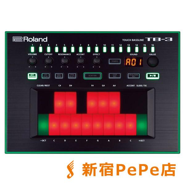 Roland AIRA TB-3 Touch Bassline タッチベースライン 【ローランド TB3】【新宿PePe店】
