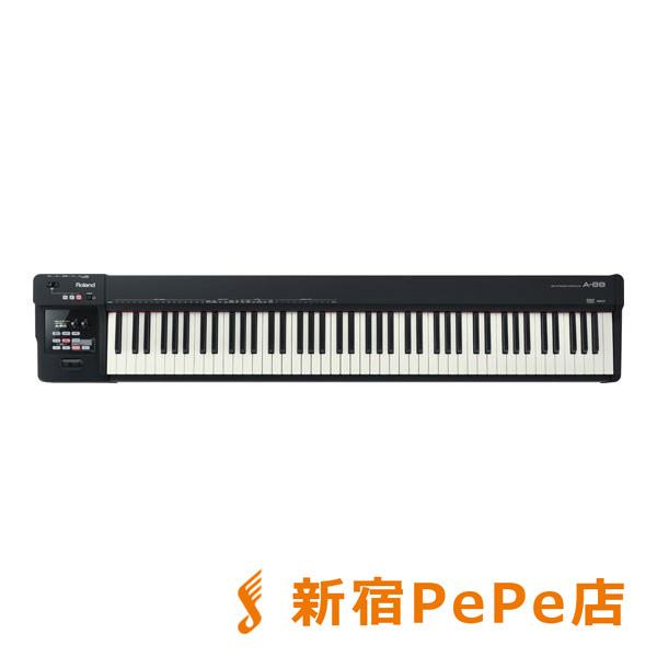 Roland A-88 MIDIキーボード・コントローラー 88鍵盤 【ローランド A88】【新宿PePe店】