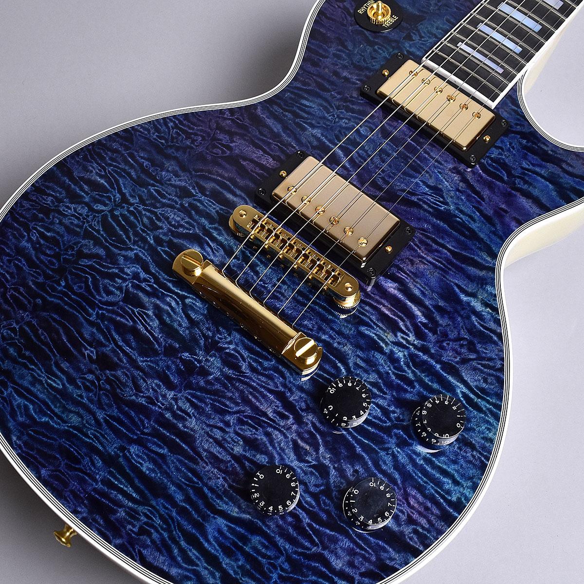 Gibson Custom Shop Hand Picked Limited Les Paul Custom 5A Quilt / Nordic Blue S/N:CS800123 レスポールカスタム 【ギブソン カスタムショップ】【現地選定品】