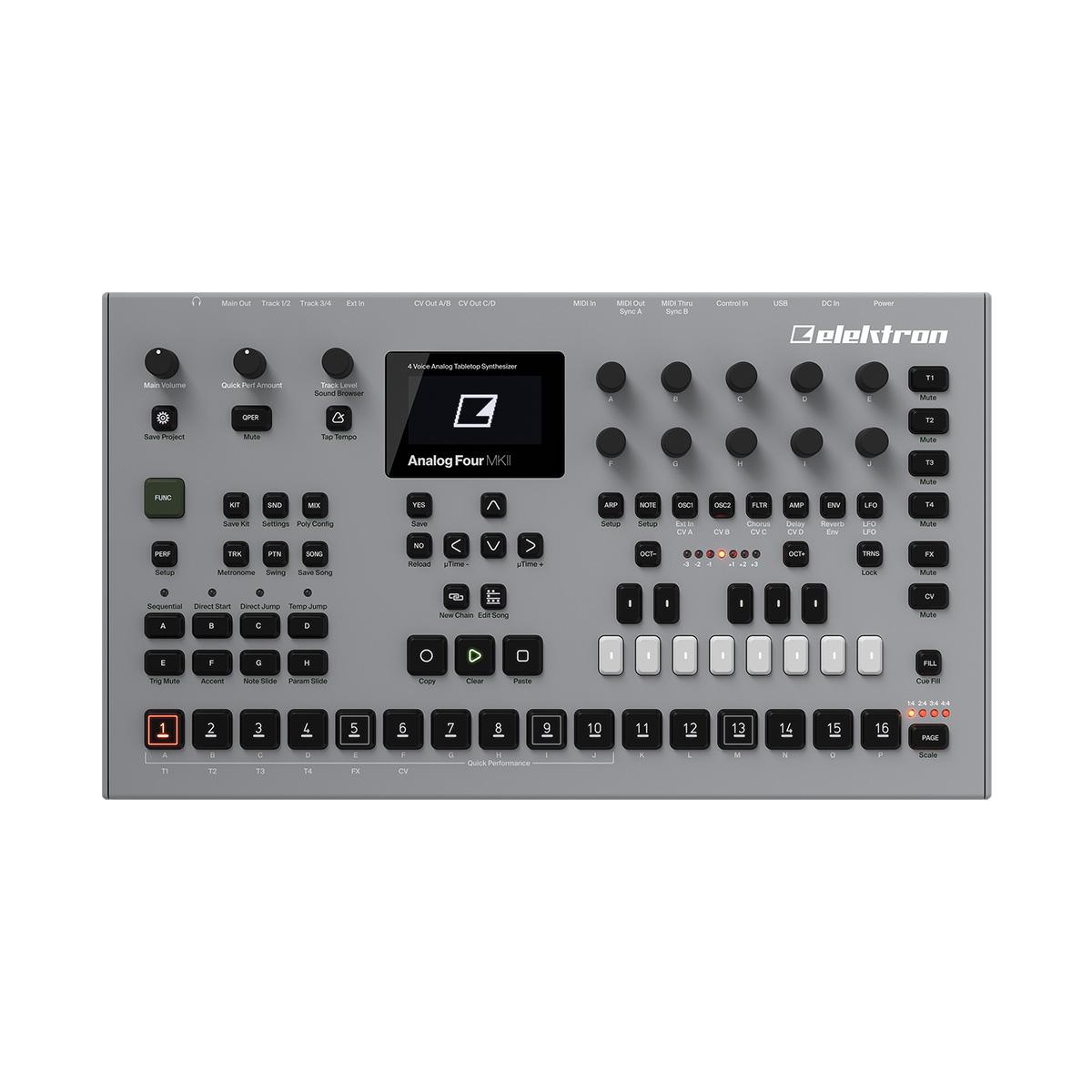 elektron Analog Four MK II アナログシンセサイザー 【エレクトロン】