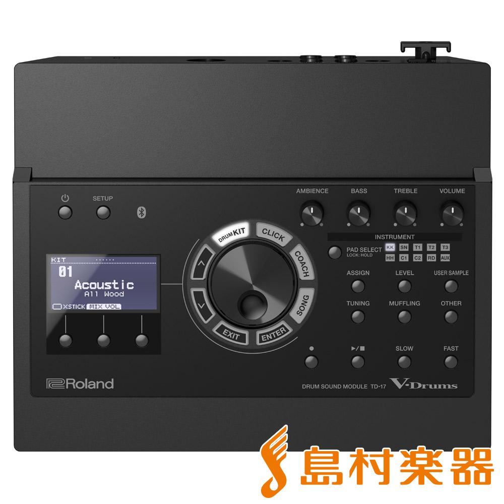 Roland TD-17 音源モジュール 【ローランド TD17 V-drums Vドラム】
