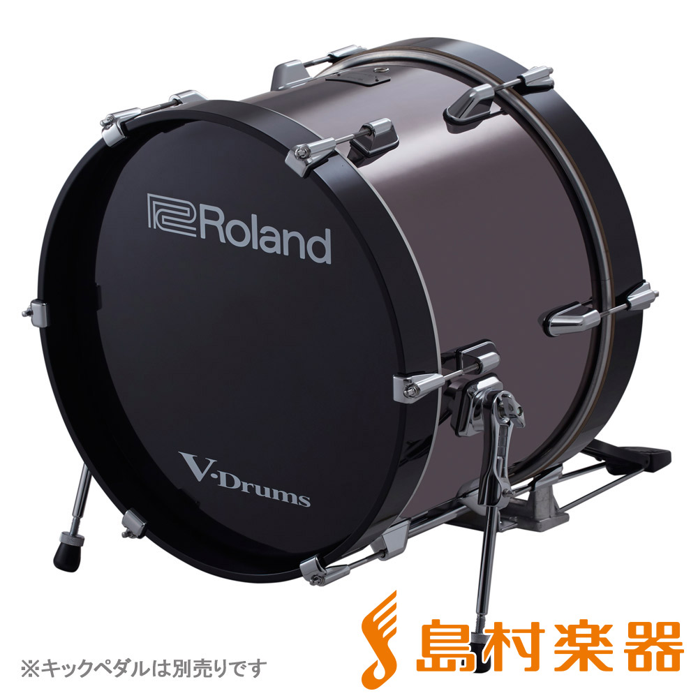 Roland KD-180 V-Drums バスドラム 18インチ キックトリガー 【ローランド KD180】