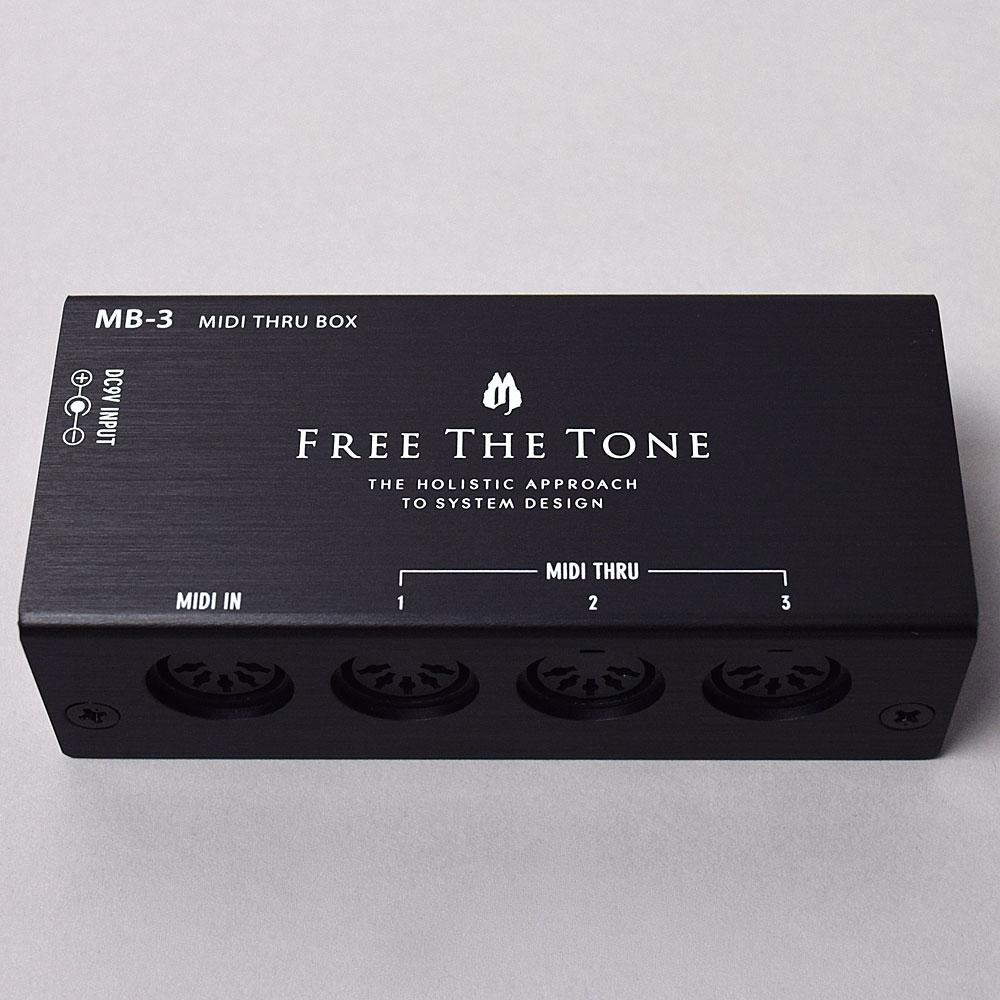 FREE THE TONE MB-3 MIDI THRU BOX(MIDIスルーボックス) 【フリーザトーン】【福岡イムズ店】