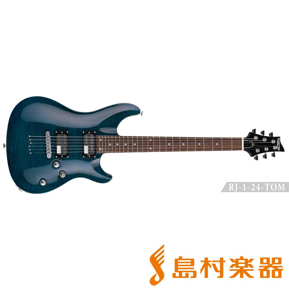 SCHECTER RJ-1-24-TOM/R BLU エレキギター RJ SERIES 【シェクター】