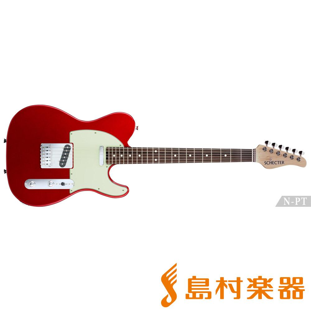 SCHECTER N-PT-AL/R CAR エレキギター N SERIES 【シェクター】