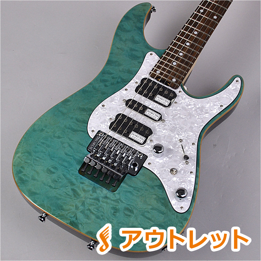 SCHECTER SD-2-24-AL AQB エレキギター 【シェクター SD2-24】【りんくうプレミアムアウトレット店】【アウトレット】