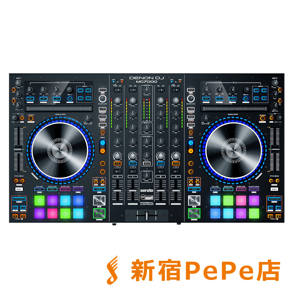 DENON MC7000 DJコントローラー serato DJ対応 【デノン】【新宿PePe店】