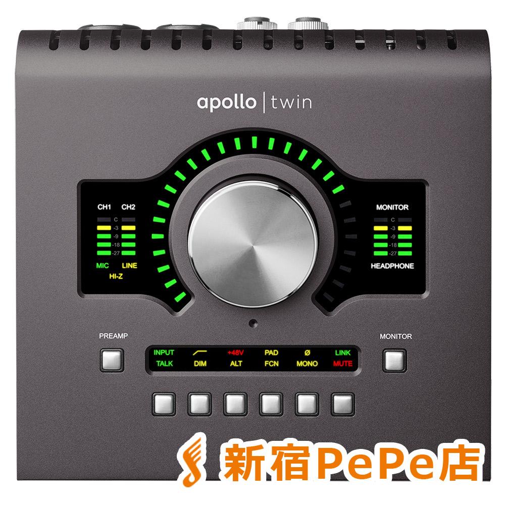 最大の割引 UNIVERSAL AUDIO Apollo Twin MKII QUAD オーディオインターフェイス 【ユニバーサルオーディオ】【新宿PePe店】【国内正規品】, メグロク 909664de