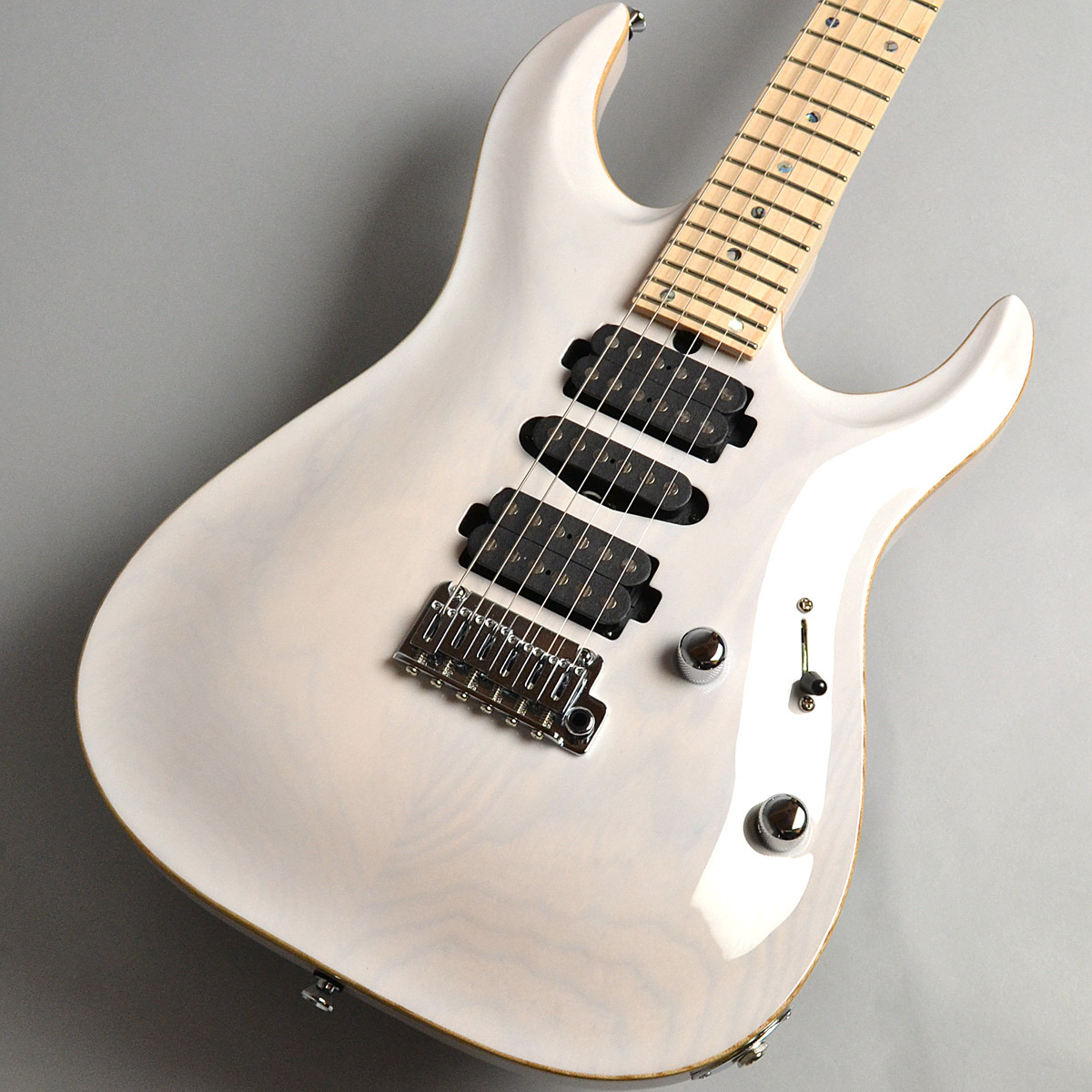 T's Guitars DST-24 Carvedtop / Trans White エレキギター 【ティーズギター】【新宿PePe店】