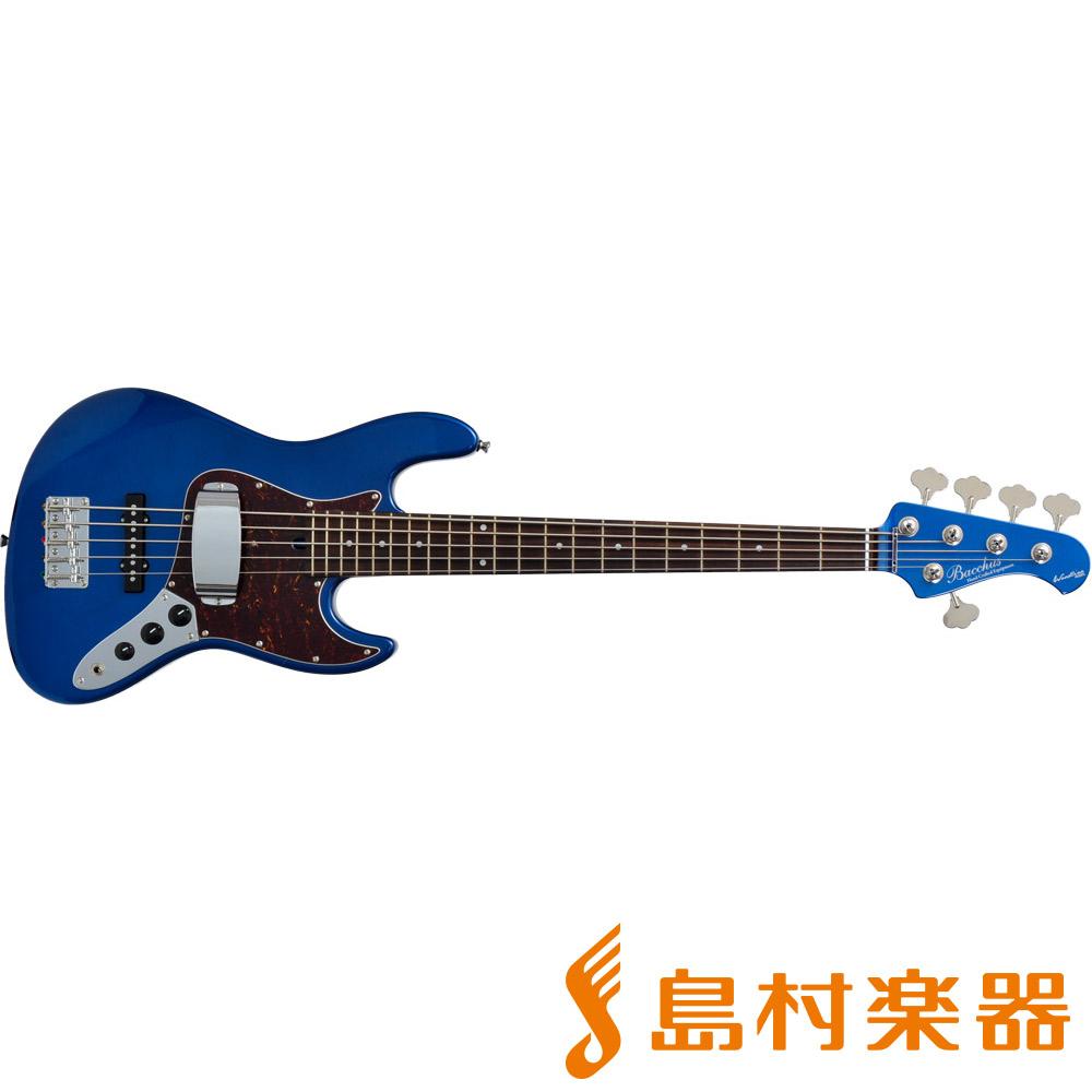 Bacchus WL-533/R DLPB 5弦エレキベース 【バッカス】