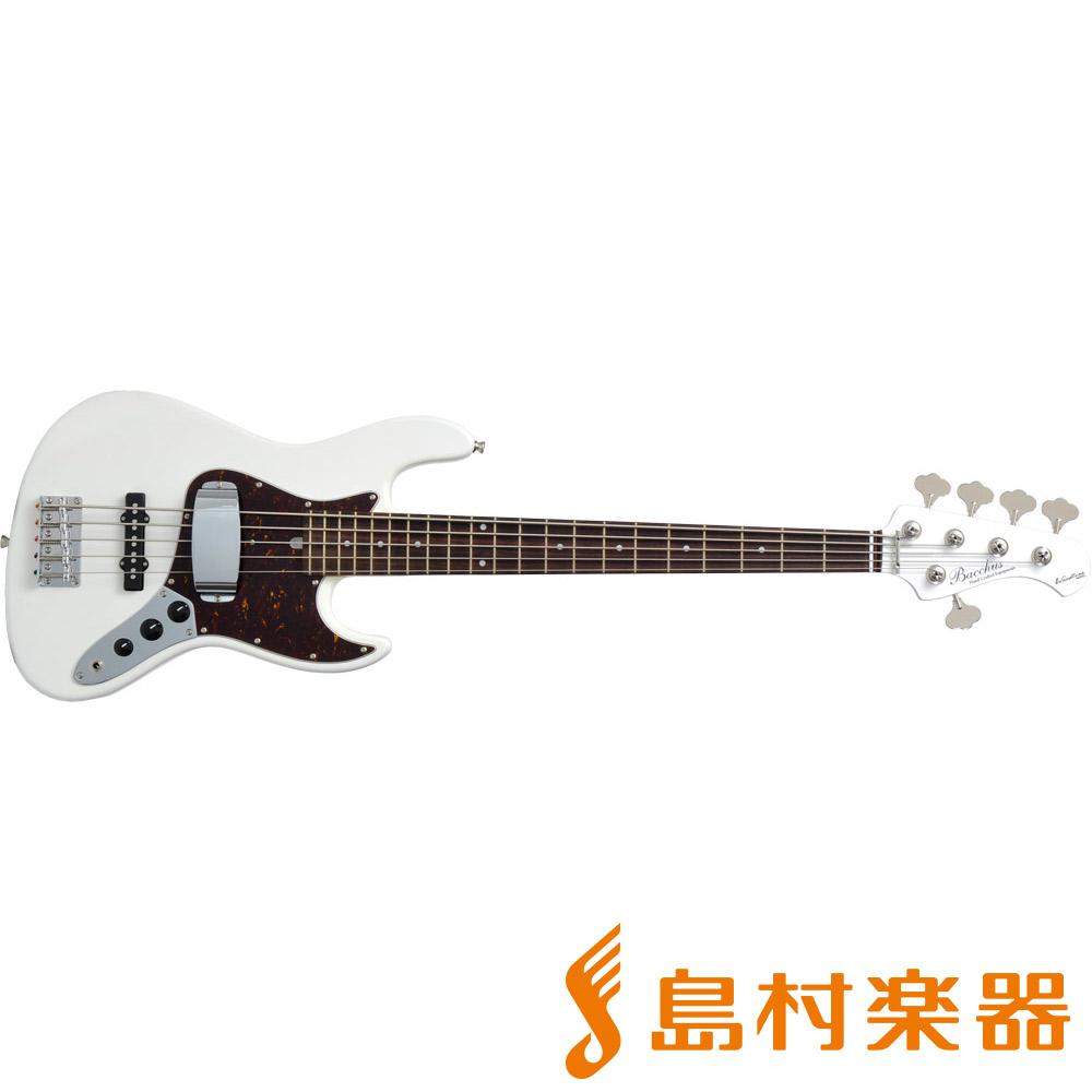 Bacchus WL-535/R SWH 5弦エレキベース 【バッカス】