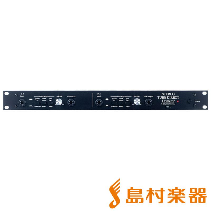 Demeter STDB-1VIR ステレオチューブダイレクトボックス【ディメーター STDB-1VIR】, ハットウチョウ:b50a196d --- officewill.xsrv.jp