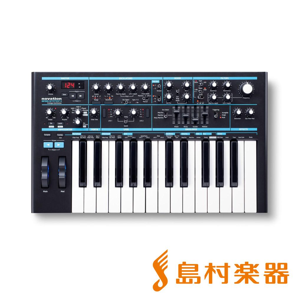 novation BassStation II アナログシンセサイザー 【ノベーション】