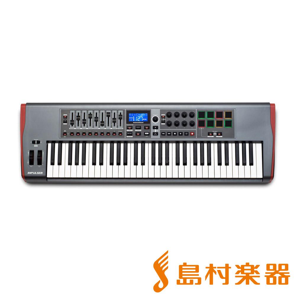 【即日発送】 novation 61鍵盤 IMPULSE61 IMPULSE61 MIDIキーボード 61鍵盤【ノベーション novation】, eLady:397d5638 --- canoncity.azurewebsites.net