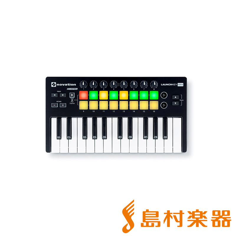 novation LAUNCHKEY MINI MKII novation MIDIキーボード 25鍵盤【ノベーション MINI MKII】, ツガワマチ:558b9823 --- sunward.msk.ru