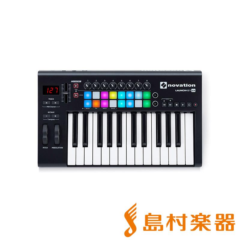 【数量限定特価】 novation LAUNCHKEY 25 MKII MIDIキーボード 25鍵盤 【ノベーション】