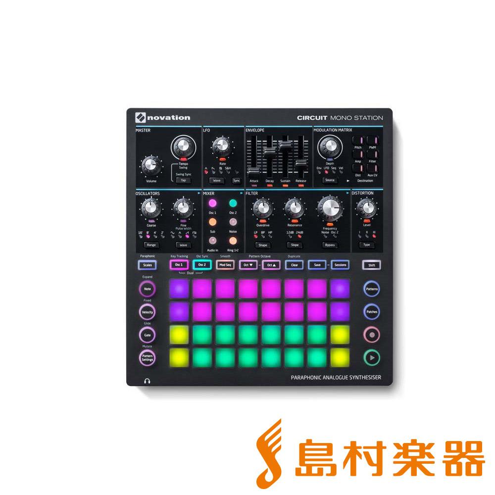 novation Circuit Mono Station デジタルシンセサイザー 【ノベーション】