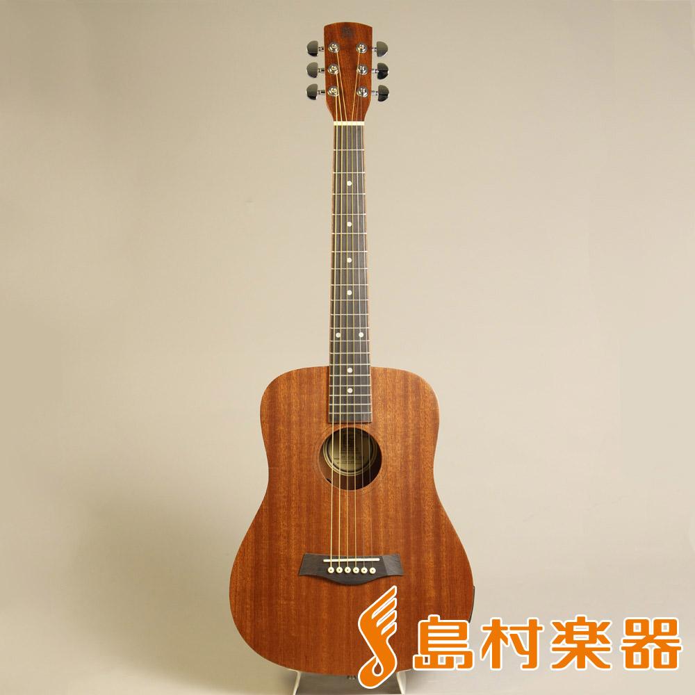 音音 OT-DT1M/e NTM ミニアコースティックギター ピックアップ付 【オトオト OTDT1Me ナチュラルマホガニー】【島村楽器限定】