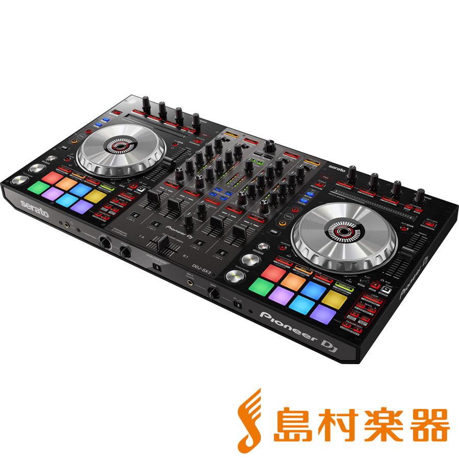Pioneer DDJ-SX3 [Serato DJ Pro]専用 DJコントローラー 【Serato Flip/ Serato Pitch'n Time】同梱 【パイオニア DDJSX3】