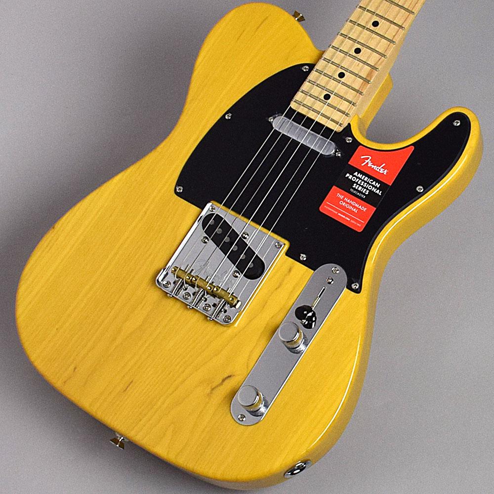 【クレジット無金利 10/31まで♪】Fender American Professional Telecaster Ash(Butterscotch Blonde/Maple) テレキャスター 【フェンダー アメリカン・プロフェッショナル】【福岡イムズ店】