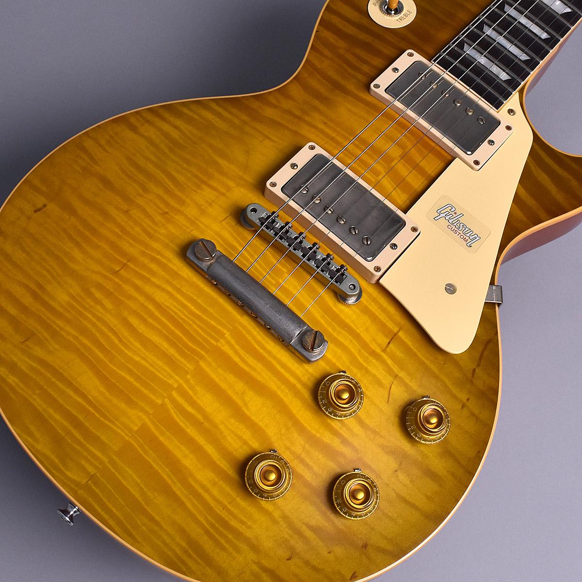 Gibson Custom Shop 1959 Les Paul Standard VOS M2M Green Lemon S/N:971711 現地選定材オーダー品 【ギブソン カスタムショップ】【未展示品】