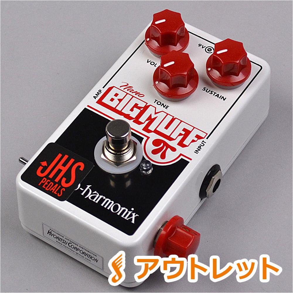 JHS Pedals EHX Nano Muff MoonPi Mod モディファイエフェクター 【JHS ペダルス】【りんくうプレミアムアウトレット店】【アウトレット】