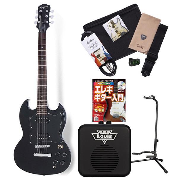 Epiphone G310 EB エレキギター 初心者 セット SG ミニアンプ 入門セット 【エピフォン】
