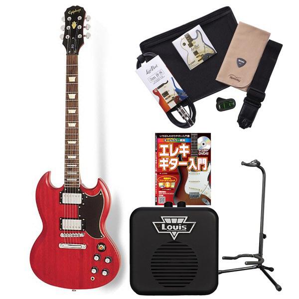 Epiphone VintageG400 WCH エレキギター 初心者 セット SG ミニアンプ 入門セット 【エピフォン】