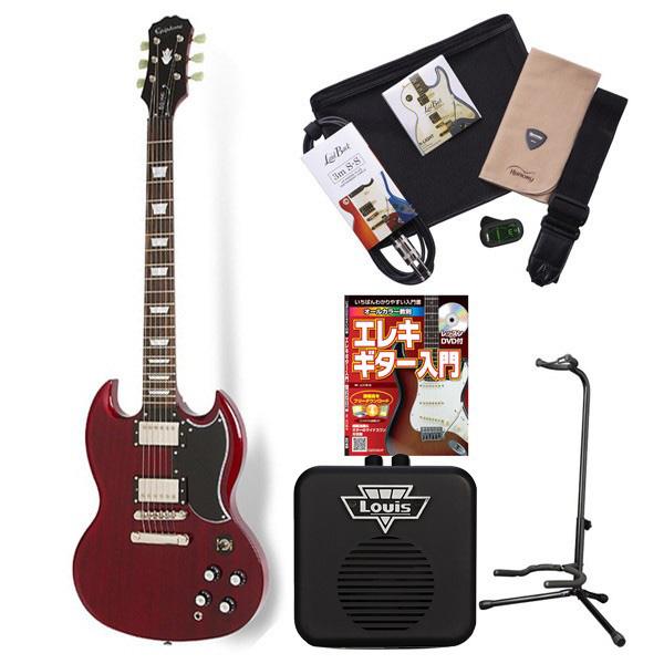 Epiphone G-400 Pro CH エレキギター 初心者 セット SG ミニアンプ 入門セット 【エピフォン】