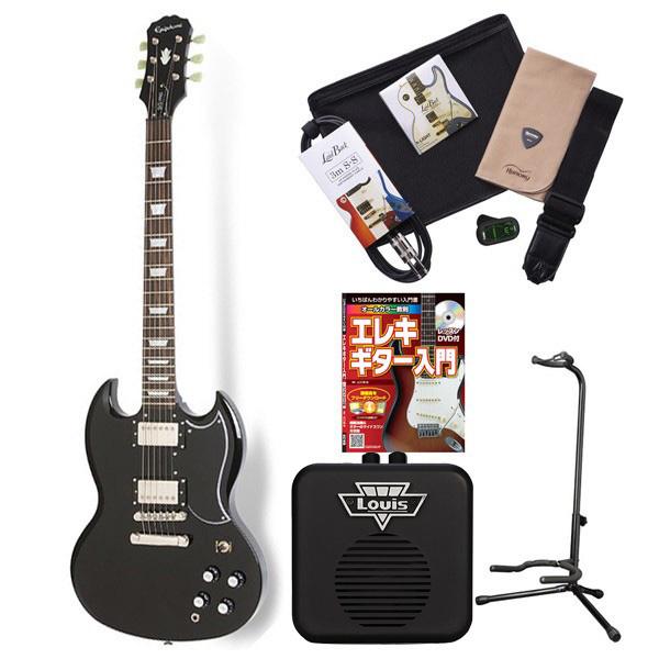 Epiphone G-400 Pro EB エレキギター 初心者 セット SG ミニアンプ 入門セット 【エピフォン】