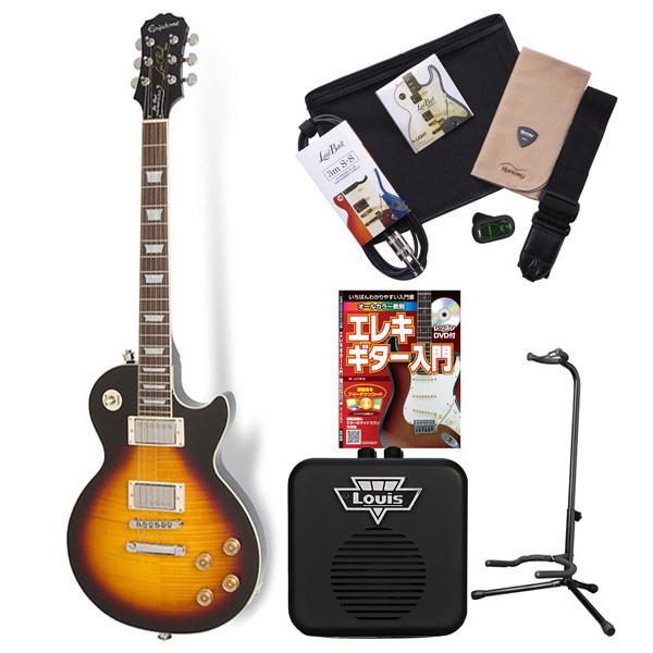 Epiphone LP TRIBUTE + OF VS エレキギター 初心者 セット レスポール ミニアンプ 入門セット 【エピフォン】