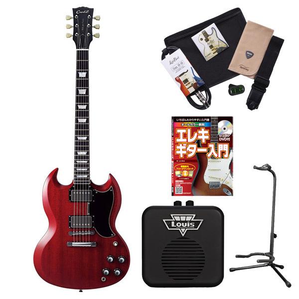 CoolZ ZSG-10 HCH エレキギター 初心者 セット SG ミニアンプ 入門セット 【クールZ】【オンラインストア限定】
