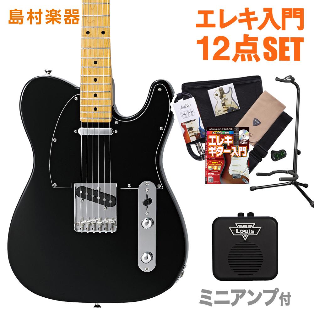 CoolZ ZTL-V/M BLK(ブラック) ミニアンプセット エレキギター 初心者 セット 【クールZ】【Vシリーズ】