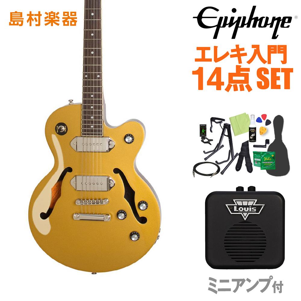 Epiphone Wildkat STUDIO MG エレキギター 初心者14点セット ミニアンプ付き 【エピフォン】【オンラインストア限定】