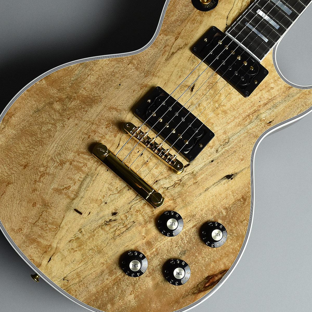 Gibson Custom Shop 1968 Les Paul Custom Burl Maple Natural S/N:080048 現地選定材オーダー品 【ギブソン カスタムショップ】【未展示品】