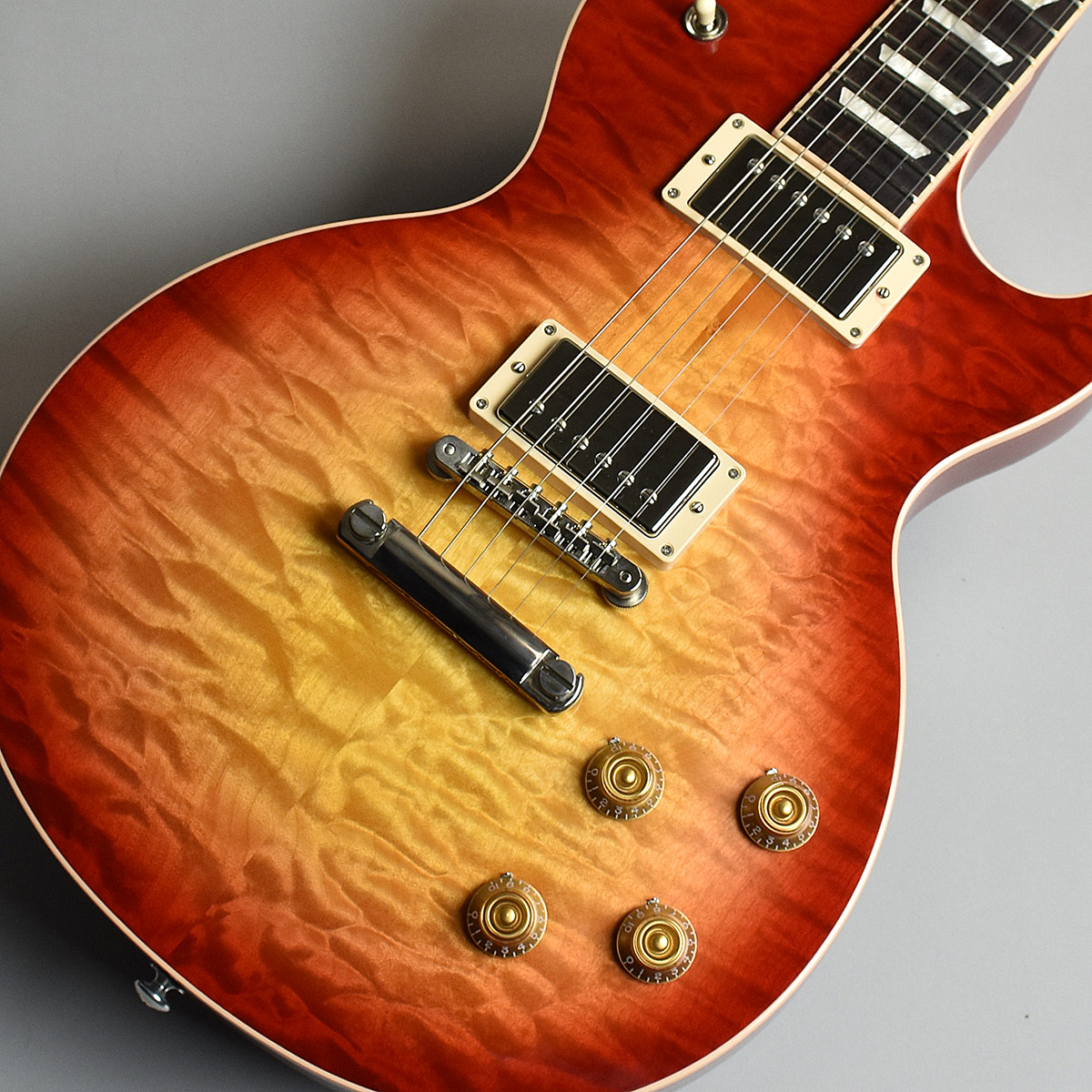 Gibson Les Paul Traditional Plus Quilt 2017 Limited Heritage Cherry Sunburst S/N:170060430 【ギブソン】【未展示品】