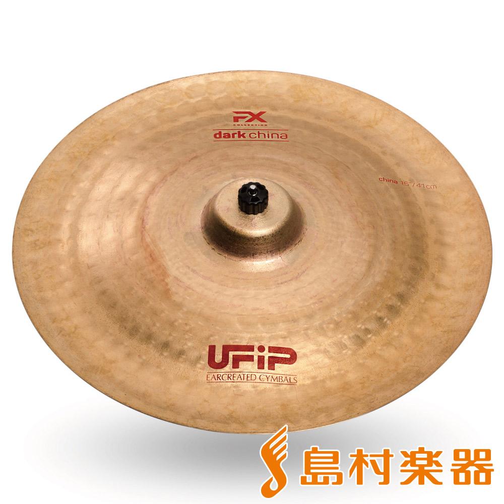 UFiP FX-16DCH Dark China チャイナシンバル 16インチ