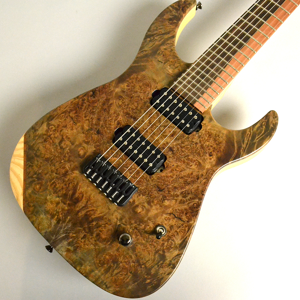 Caparison Dellinger-7-FX-MBASCL/TLBKM エレキギター(7弦) 【キャパリソン】【イオンモール幕張新都心店】【現物画像】【希少モデル】