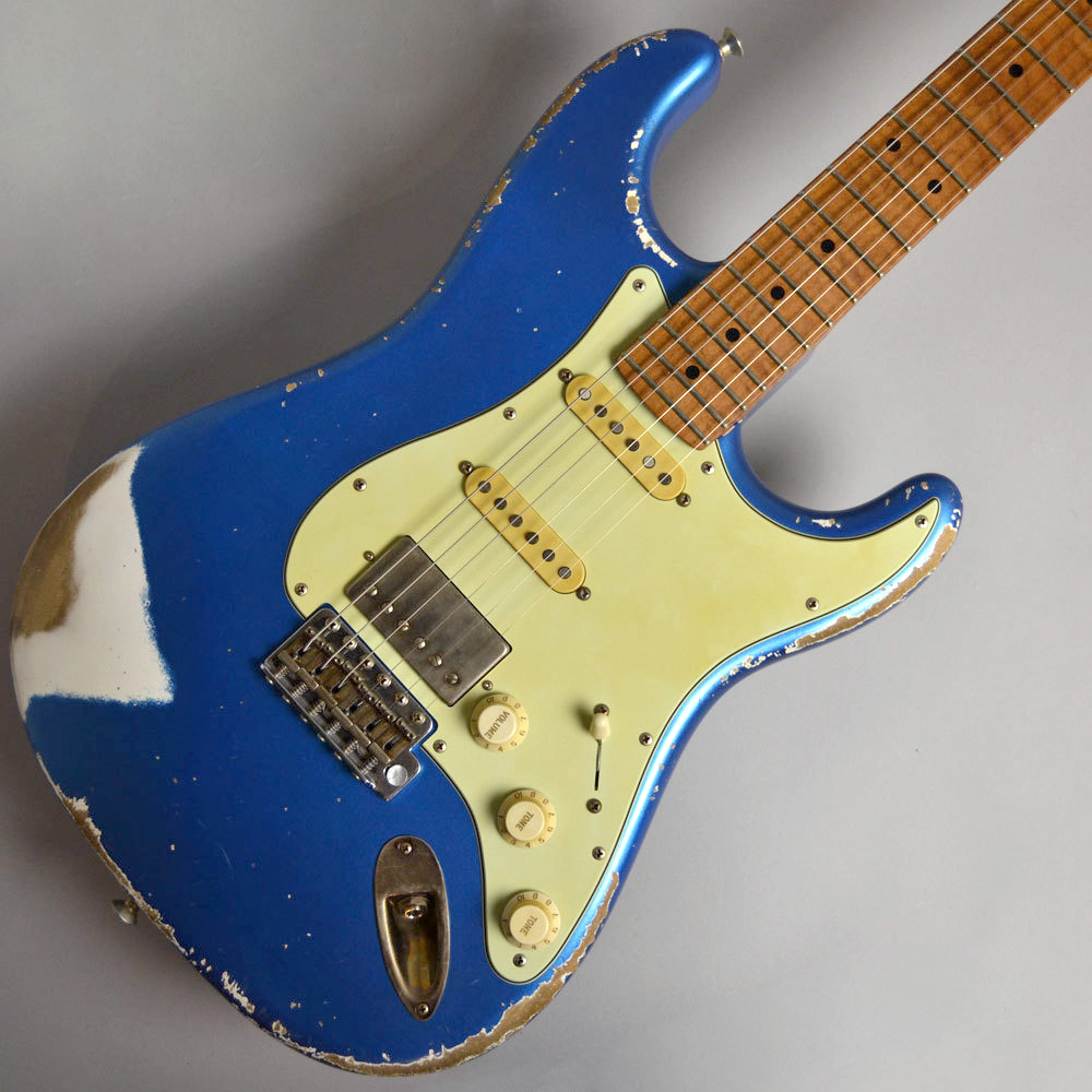 XOTIC XSC-2 Allen Hinds / Lake Placid Blue Heavy Aged #609 エレキギター 【エキゾチック】【イオンモール幕張新都心店】【現物画像】