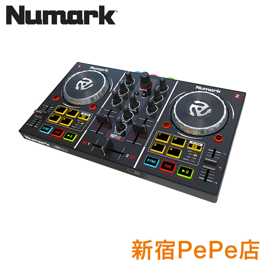 Numark Party Mix DJコントローラー 【ヌマーク】【新宿PePe店】