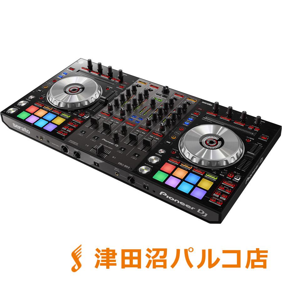 Pioneer DDJ-SX3 [Serato DJ Pro]専用 DJコントローラー 【Serato Flip/ Serato Pitch'n Time】同梱 【パイオニア DDJSX3】【津田沼パルコ店】