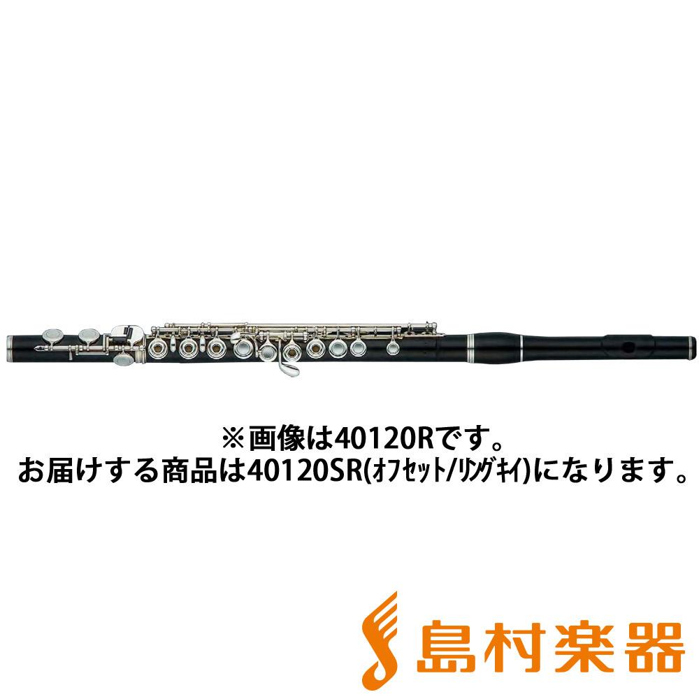 Hammig 40120SR フルート 木製 オフセット リングキイ Eメカ付 【ハンミッヒ A・R・Hammig】