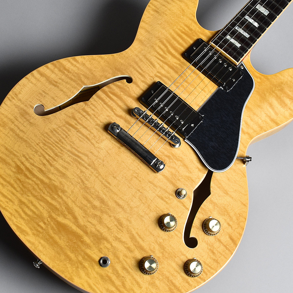 Gibson Memphis ES-335 Figured Dark Vintage Natural S/N:12487730 セミアコ 【ギブソン メンフィス ES335】【未展示品】